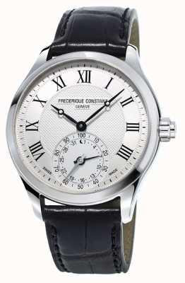 Frederique Constant Uhrmacherarmband für Herren schwarz FC-285MC5B6