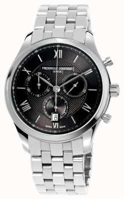 Frederique Constant Herren Klassiker Chronograph Edelstahl Armband FC-292MG5B6B