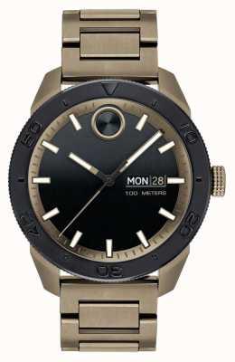 Movado Sportliches Armband für Herren aus Kunstleder 3600511
