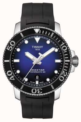 Tissot Seastar 1000 Herren Powermatic 80 Automatikgummi schwarz T1204071704100