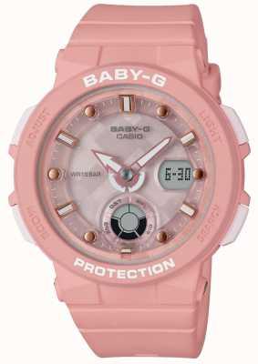 Casio Baby-g rosa Strap Strand Reisenden BGA-250-4AER