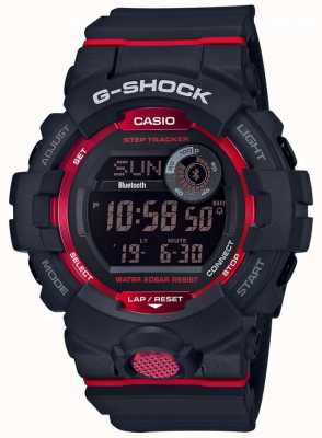 Casio G-Squad schwarz / roter digitaler Bluetooth Step Tracker GBD-800-1ER