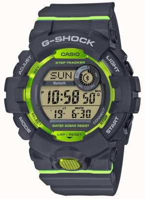 Casio G-Squad graugrüner digitaler Bluetooth-Step-Tracker GBD-800-8ER