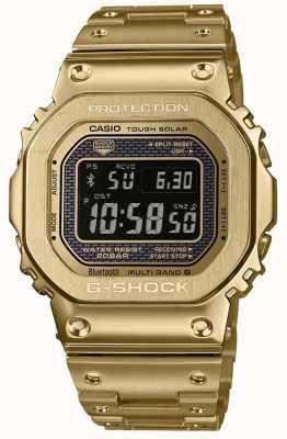 Casio G-Schock funkgesteuerter Bluetooth Solar vergoldeter Stahl GMW-B5000GD-9ER