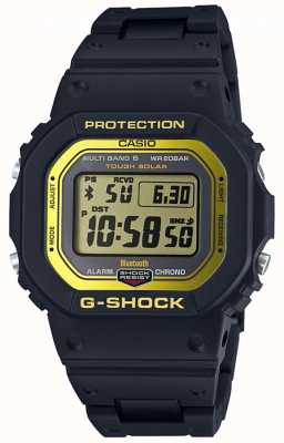 Casio G-Shock Bluetooth Funk-Composite-Band schwarz / yel GW-B5600BC-1ER