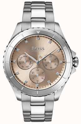 Hugo Boss Erstklassiges Damenuhr-Armband aus Bronze 1502444