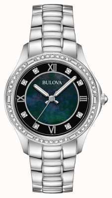 Bulova Damenuhr aus Edelstahl 96L266