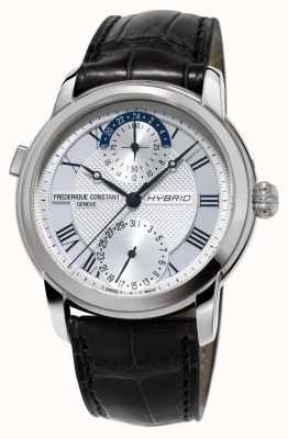 Frederique Constant Hybrid-Manufaktur 3.0 automatische Smartwatch schwarzen Gurt FC-750MC4H6