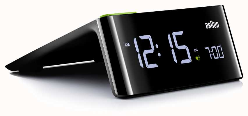 Braun Digitaler Nachttischwecker | LCD Bildschirm BNC016BKUK