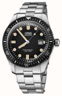 Oris Divers fünfundsechzig automatische Datumsanzeige 01 733 7720 4054-07 8 21 18