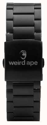 Weird Ape Schwarzes Link 20mm Armband ST01-000002