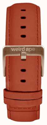 Weird Ape Rust Wildleder 20mm Band Roségold Schnalle ST01-000094