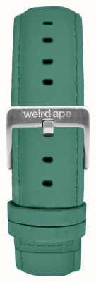Weird Ape Jadegrün Wildleder 16mm Band silberne Schnalle ST01-000060
