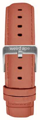 Weird Ape Rose Pink Wildleder 16mm Band Silberschnalle ST01-000052