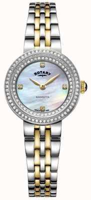 Rotary Ladies Kensington | zweifarbiges Edelstahlarmband | LB05371/41