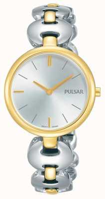 Pulsar Silberfarbene Damenarmbanduhr in zwei Farben PM2264X1