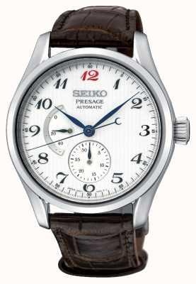 Seiko Presage Herren automatische Gangreserveanzeige Uhr SPB059J1