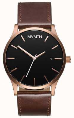 MVMT Klassisches Braun der Männer MM01-RGBL