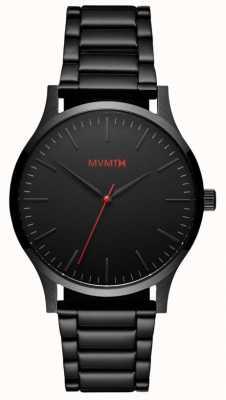 MVMT Mens 40 Serie schwarz Link MT01-BL