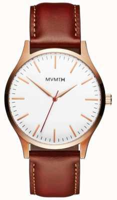 MVMT Mens 40 Serie natürliche Bräune MT01-WBR