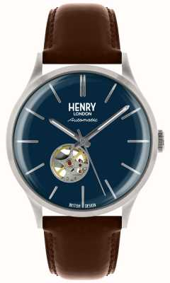 Mens Henry London Erbe automatisch HL42-AS-0277