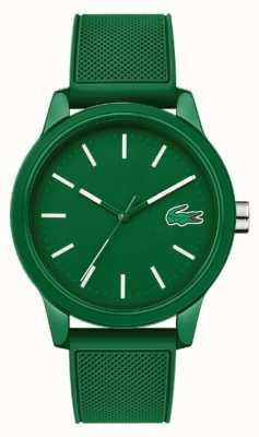 Lacoste 12.12 grünes Silikonband 2010985