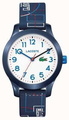 Lacoste 12.12 Kinder blaues Armband weißes Zifferblatt 2030008