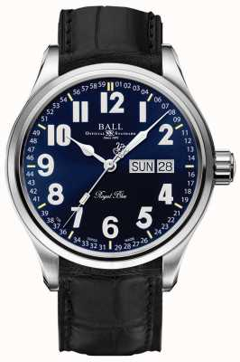 Ball Watch Company Datums- und Tagesanzeige von Trainmaster royal blue NM1058D-LL9J-BE