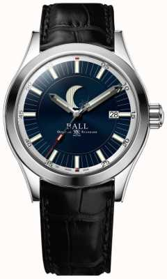 Ball Watch Company Engineer ii Mondphase Datumsanzeige blaues Zifferblatt NM2282C-LLJ-BE