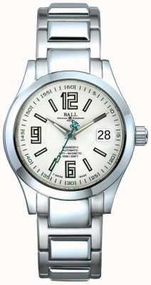 Ball Watch Company Engineer ii automatische Datumsanzeige weißes Zifferblatt antimagnetisch NM1020C-S4-WH