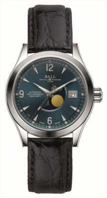 Ball Watch Company Ohio Mondphase automatische Datumsanzeige Lederband NM2082C-LJ-BE