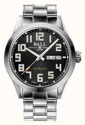 Ball Watch Company Ingenieur III Starlight schwarzes Zifferblatt Edelstahl Limited Edition NM2182C-S9-BK1