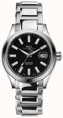 Ball Watch Company Engineer II Marvelight automatische Anzeige des schwarzen Zifferblatts NM2026C-S6J-BK