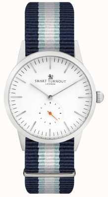 Smart Turnout Signature-Uhr - weiß mit yh-Band STK3/WH/56/W