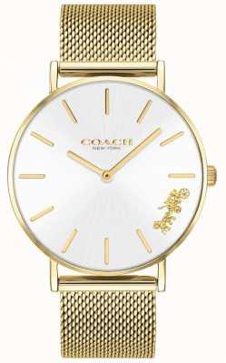 Coach Armbanduhr aus goldfarbenem Damenarmband 14503125