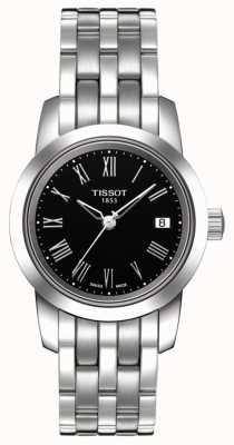 Tissot Klassisches Damenuhr-Zifferblatt aus Edelstahl T0332101105300