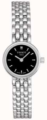 Tissot Womens schönes Edelstahl schwarzes Zifferblatt Swiss Made T0580091105100