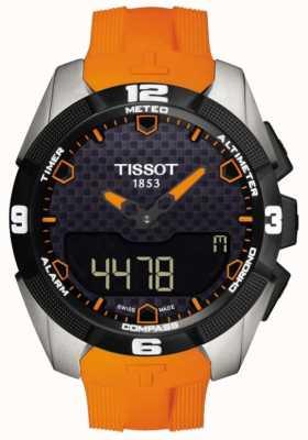 Tissot Herren T-Touch Experte Solar Titan Alarm Chronograph T0914204705101