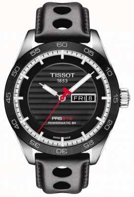 Tissot Herren prs 516 Lederband powermatic 80 T1004301605100