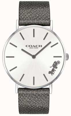 Coach Armbanduhr mit grauem Lederarmband für Damen 14503155