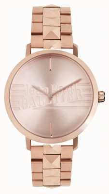 Jean Paul Gaultier Roségoldfarbene Armbanduhr für Damen 8505701