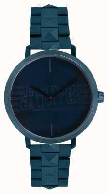 Jean Paul Gaultier Blauton-Armbanduhr des schlechten Mädchens der Frauen 8505702