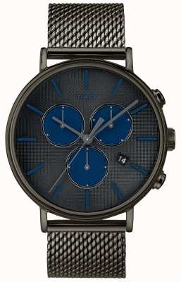 Timex Fairfield Supernova Chronograph Uhr grau Mesh-Armband TW2R98000D7PF