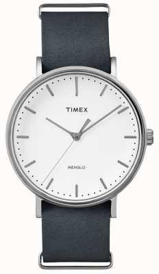 Timex Fairfield Black Strap 3 Handuhr TWF3C8140UK