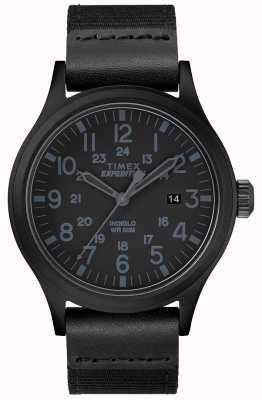 Timex Expeditions-Scout-Uhr mit schwarzem Stoffarmband TW4B14200D7PF