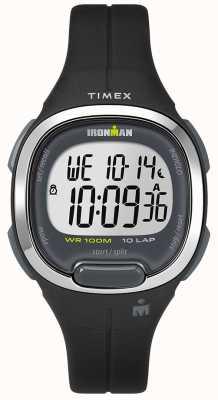 Timex Iron man wesentliche lila und Chrom Uhr TW5M19700SU