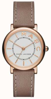 Damen Marc Jacobs klassische Uhr aus grauem Leder MJ1538