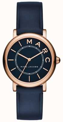 Marc Jacobs Damen marc jacobs klassisches Uhr Marine Leder MJ1539