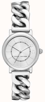Womens Marc Jacobs klassische Uhr Silberton MJ3593