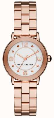 Marc Jacobs Damen Riley Uhr Roségold Ton MJ3474